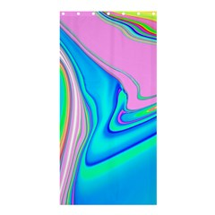 Aurora Color Rainbow Space Blue Sky Purple Yellow Green Pink Red Shower Curtain 36  X 72  (stall)  by Mariart