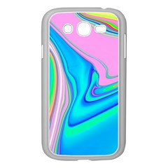 Aurora Color Rainbow Space Blue Sky Purple Yellow Green Pink Red Samsung Galaxy Grand Duos I9082 Case (white) by Mariart