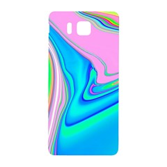 Aurora Color Rainbow Space Blue Sky Purple Yellow Green Pink Red Samsung Galaxy Alpha Hardshell Back Case by Mariart