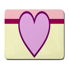 Cute Gender Gendercute Flags Love Heart Line Valentine Large Mousepads by Mariart