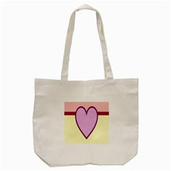 Cute Gender Gendercute Flags Love Heart Line Valentine Tote Bag (cream) by Mariart