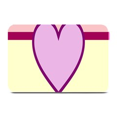Cute Gender Gendercute Flags Love Heart Line Valentine Plate Mats by Mariart