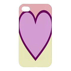 Cute Gender Gendercute Flags Love Heart Line Valentine Apple Iphone 4/4s Hardshell Case by Mariart