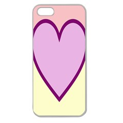 Cute Gender Gendercute Flags Love Heart Line Valentine Apple Seamless Iphone 5 Case (clear) by Mariart