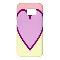 Cute Gender Gendercute Flags Love Heart Line Valentine Samsung Galaxy S7 Edge Hardshell Case by Mariart