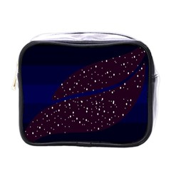 Contigender Flags Star Polka Space Blue Sky Black Brown Mini Toiletries Bags by Mariart