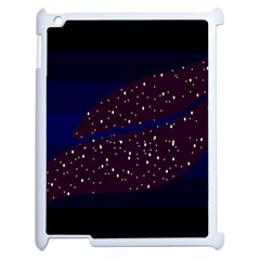 Contigender Flags Star Polka Space Blue Sky Black Brown Apple Ipad 2 Case (white) by Mariart
