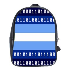 Digigender Cute Gender Gendercute Flags School Bags(large)