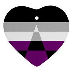 Dissexual Flag Ornament (heart) by Mariart