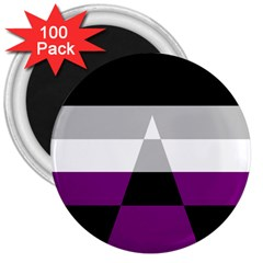 Dissexual Flag 3  Magnets (100 Pack) by Mariart