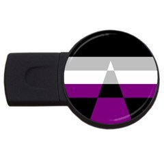 Dissexual Flag Usb Flash Drive Round (4 Gb) by Mariart