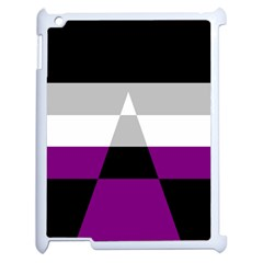 Dissexual Flag Apple Ipad 2 Case (white) by Mariart