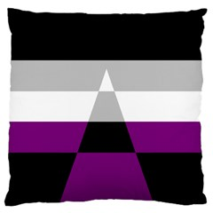 Dissexual Flag Large Cushion Case (two Sides) by Mariart