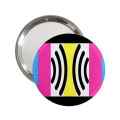 Echogender Flags Dahsfiq Echo Gender 2 25  Handbag Mirrors by Mariart