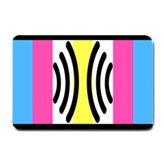 Echogender Flags Dahsfiq Echo Gender Small Doormat  by Mariart