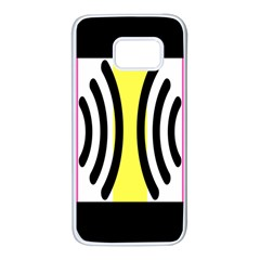 Echogender Flags Dahsfiq Echo Gender Samsung Galaxy S7 White Seamless Case by Mariart