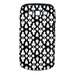 Dark Horse Playing Card Black White Samsung Galaxy S Iii Classic Hardshell Case (pc+silicone) by Mariart