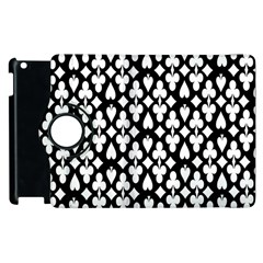 Dark Horse Playing Card Black White Apple Ipad 3/4 Flip 360 Case by Mariart