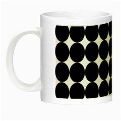 Dotted Pattern Png Dots Square Grid Abuse Black Night Luminous Mugs by Mariart