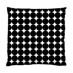 Dotted Pattern Png Dots Square Grid Abuse Black Standard Cushion Case (two Sides) by Mariart