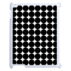 Dotted Pattern Png Dots Square Grid Abuse Black Apple Ipad 2 Case (white) by Mariart