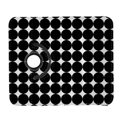 Dotted Pattern Png Dots Square Grid Abuse Black Galaxy S3 (flip/folio) by Mariart