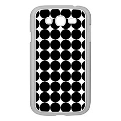 Dotted Pattern Png Dots Square Grid Abuse Black Samsung Galaxy Grand Duos I9082 Case (white) by Mariart