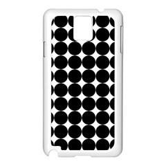 Dotted Pattern Png Dots Square Grid Abuse Black Samsung Galaxy Note 3 N9005 Case (white) by Mariart
