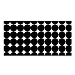 Dotted Pattern Png Dots Square Grid Abuse Black Satin Shawl by Mariart