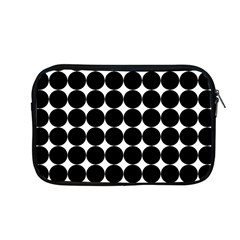 Dotted Pattern Png Dots Square Grid Abuse Black Apple Macbook Pro 13  Zipper Case by Mariart