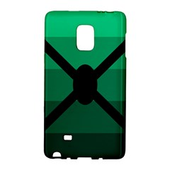 Fascigender Flags Line Green Black Hole Polka Galaxy Note Edge by Mariart