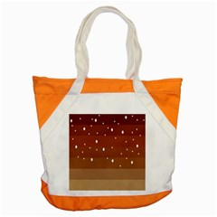 Fawn Gender Flags Polka Space Brown Accent Tote Bag