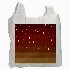 Fawn Gender Flags Polka Space Brown Recycle Bag (one Side) by Mariart