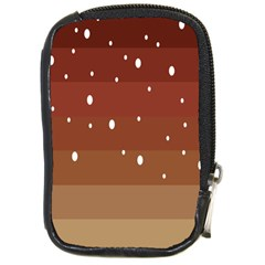 Fawn Gender Flags Polka Space Brown Compact Camera Cases by Mariart