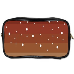 Fawn Gender Flags Polka Space Brown Toiletries Bags by Mariart