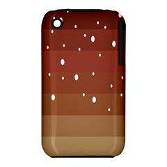 Fawn Gender Flags Polka Space Brown Iphone 3s/3gs by Mariart
