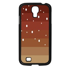 Fawn Gender Flags Polka Space Brown Samsung Galaxy S4 I9500/ I9505 Case (black) by Mariart