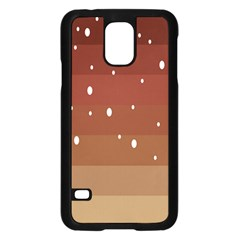 Fawn Gender Flags Polka Space Brown Samsung Galaxy S5 Case (black) by Mariart
