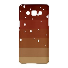 Fawn Gender Flags Polka Space Brown Samsung Galaxy A5 Hardshell Case  by Mariart