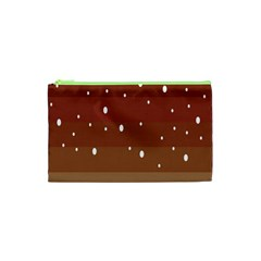 Fawn Gender Flags Polka Space Brown Cosmetic Bag (xs) by Mariart