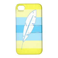 Feather Flags Apple Iphone 4/4s Hardshell Case With Stand by Mariart