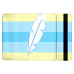Feather Flags Ipad Air Flip by Mariart
