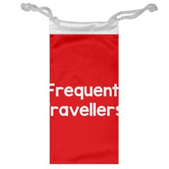 Frequent Travellers Red Jewelry Bag by Mariart