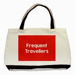 Frequent Travellers Red Basic Tote Bag by Mariart