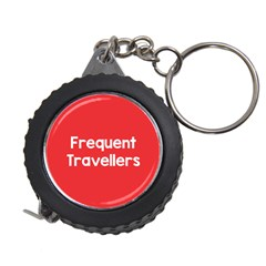 Frequent Travellers Red Measuring Tapes by Mariart