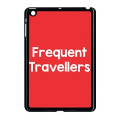 Frequent Travellers Red Apple Ipad Mini Case (black) by Mariart