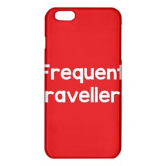 Frequent Travellers Red Iphone 6 Plus/6s Plus Tpu Case by Mariart
