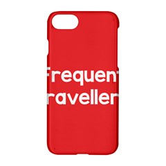 Frequent Travellers Red Apple Iphone 7 Hardshell Case by Mariart
