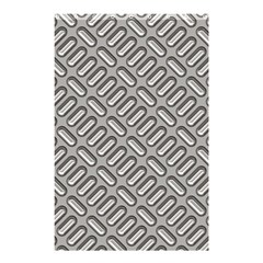 Capsul Another Grey Diamond Metal Texture Shower Curtain 48  X 72  (small)  by Mariart