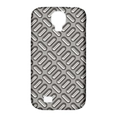 Capsul Another Grey Diamond Metal Texture Samsung Galaxy S4 Classic Hardshell Case (pc+silicone) by Mariart